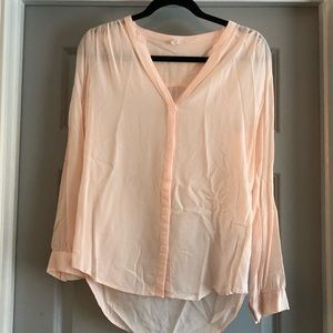 Old Navy Pink Button Down Blouse (M)